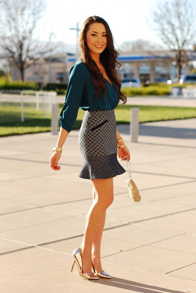 Luana Balbine ॐ | Ideias fashion, Vestido azul de renda