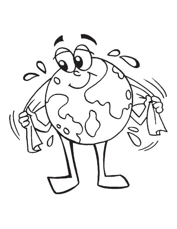 Clean Earth From Manure Coloring Pages For Kids Cwn Printable Earth Day Coloring Pages For Kid Earth Day Coloring Pages Planet Coloring Pages Coloring Pages