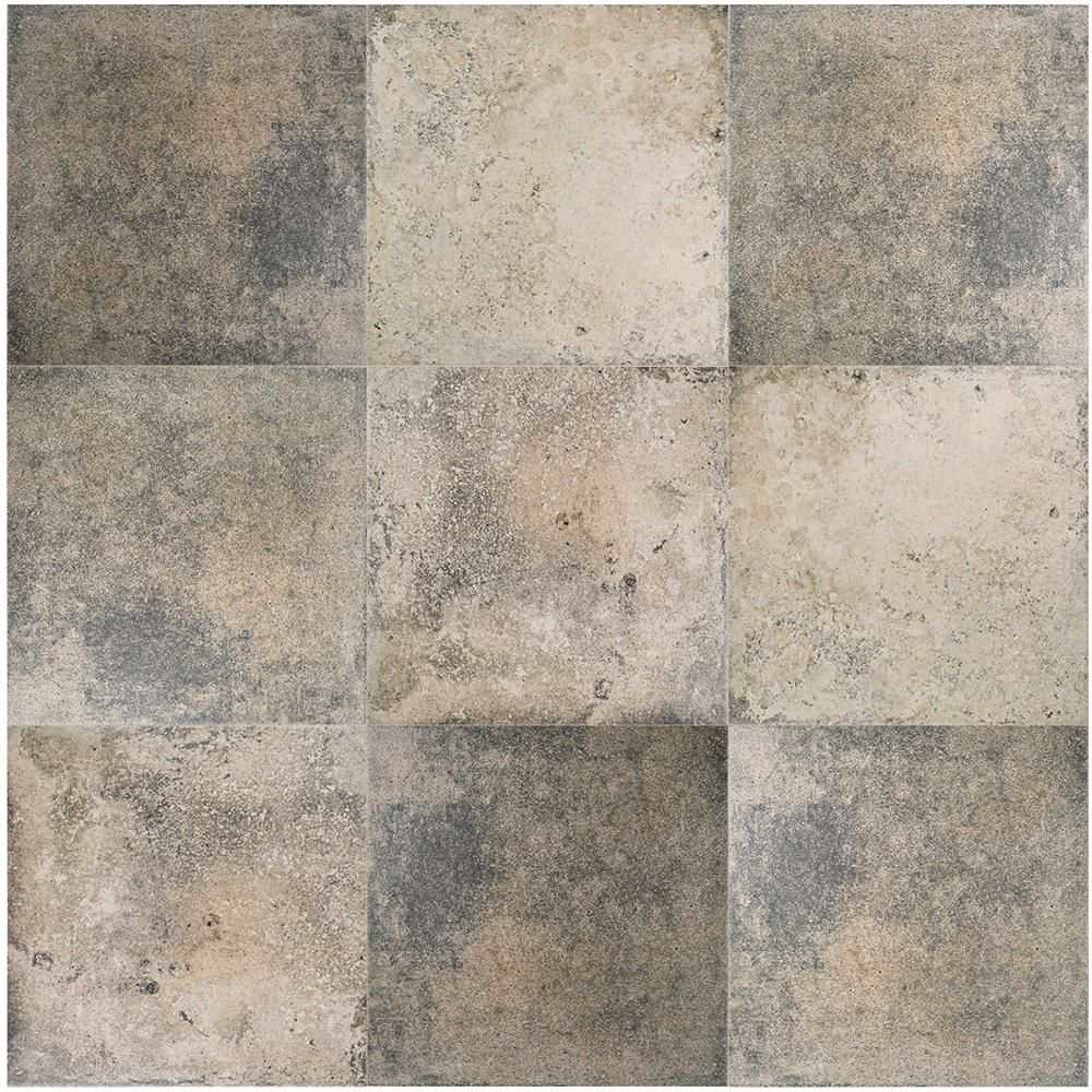 Merola Tile Fankuit Beige 11 7 8 In X 11 7 8 In Porcelain Floor And Wall Tile 12 26 Sq Ft Case Fpefkb The Home Depot Porcelain Flooring Merola Tile Floor And Wall Tile