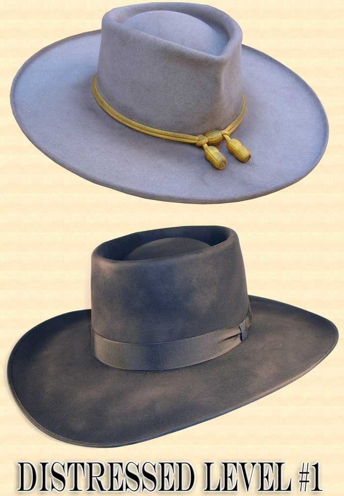 4ed9fb1851dd20 Men's Hat - Hat Antiquing or Distressing in 2019 | Distressed Felt ...