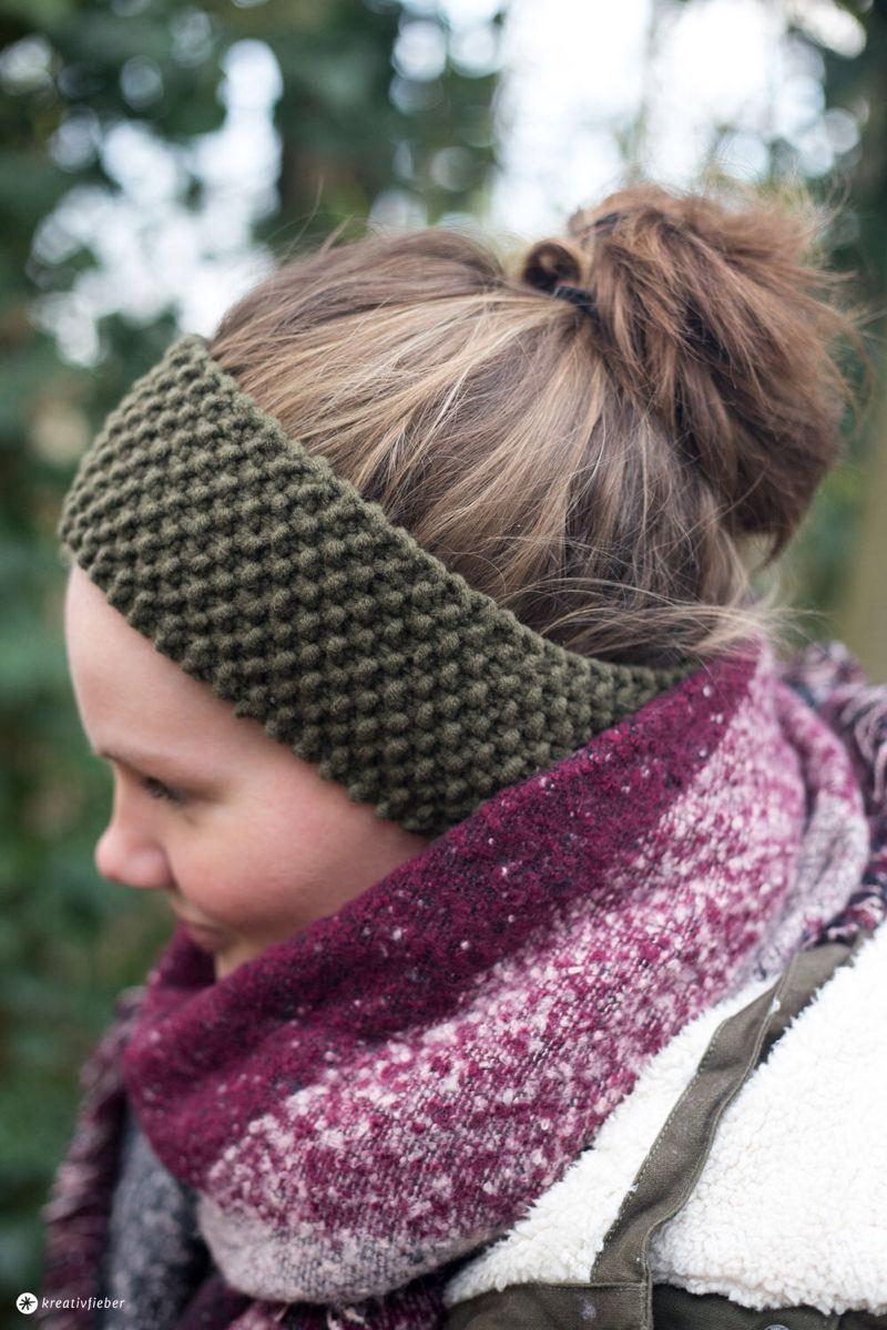 Photo of DIY Stirnband mit Perlmuster stricken – kleine DIY Geschenkidee