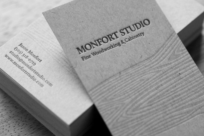 A Stunning Collection Of 50 Letterpress Business Cards Business - letterpress business card