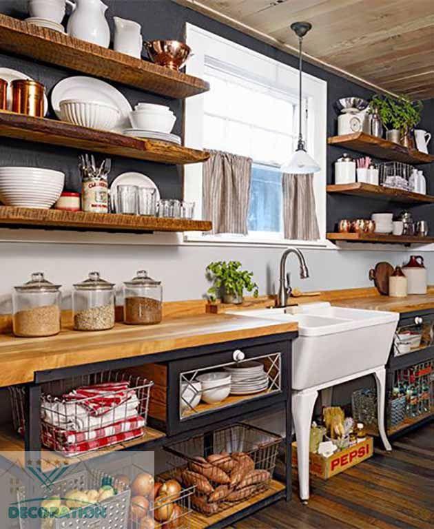 Relooking cuisine rustique astuces et conseils pour donner un coup de nouveau l espace - Relooking cuisine rustique ...