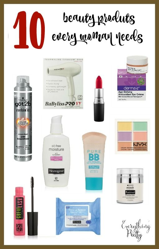 10 Beauty Products Every Women Should Own Belleza Maquillaje
