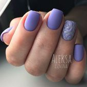 Photo of A mani with accent nails has never lost its popularity since its emergence. Let