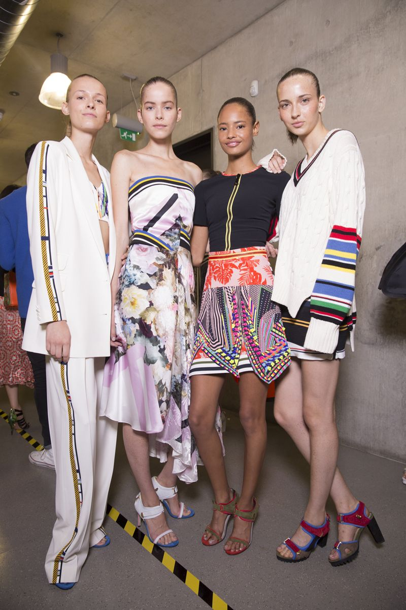 Preen spring 2015 rtw - behind the scenes