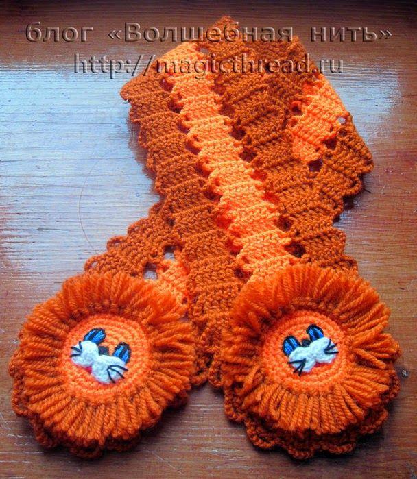Patrones Crochet, Manualidades y Reciclado: PATRON DE BUFANDA PARA ...