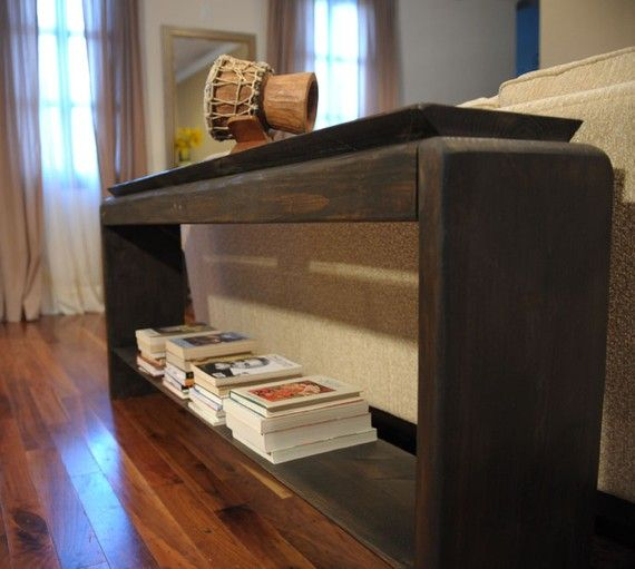 6 Foot Gorgeous Sofa Table Console Table Long Wooden By Modernrust