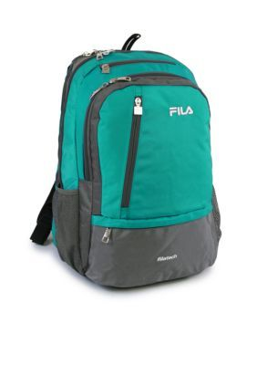 58546d3b64 Fila Usa Duel Tablet And Laptop Backpack - Teal - One Size