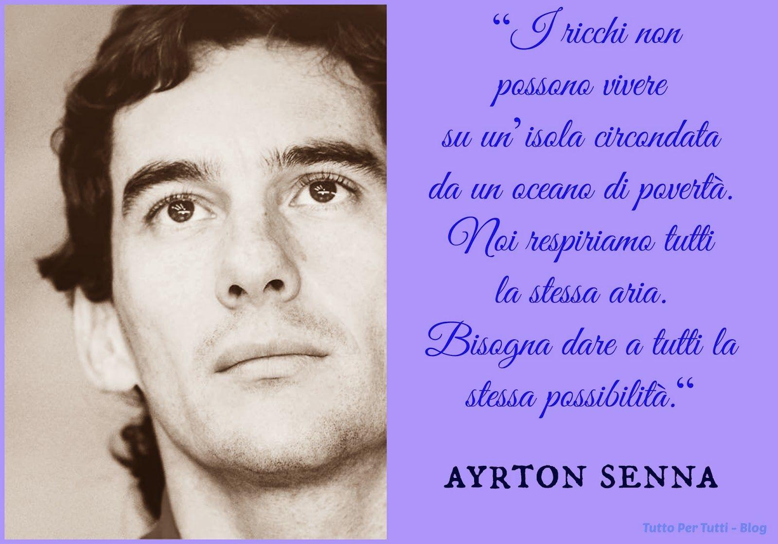 Tutto Per Tutti Ayrton Senna Da Silva San Paolo 21 Marzo 1960