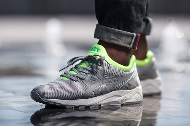 asics lime green