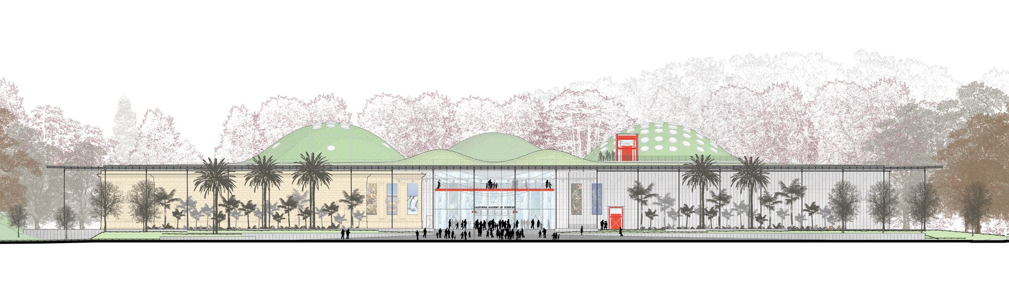 California Academy Of Sciences Renzo Piano Building Workshop Stantec Architecture Renzo Piano Gazebos Diy Dossel