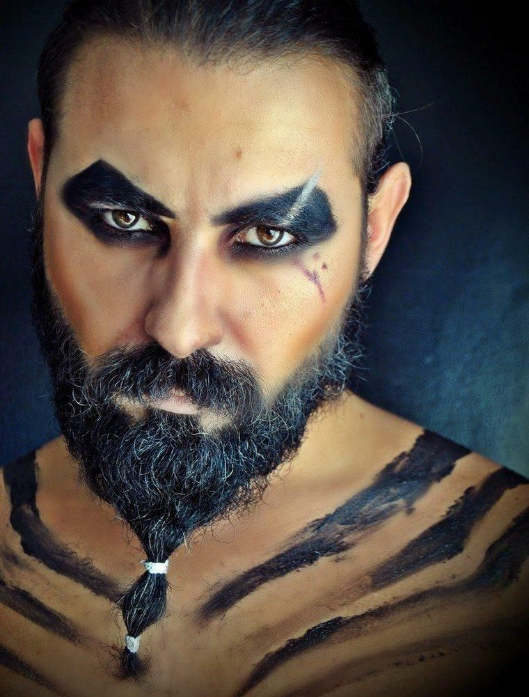 Halloween Looks For Guys.Halloween Makeup Ideas For Guys With Beards Beard Makeup