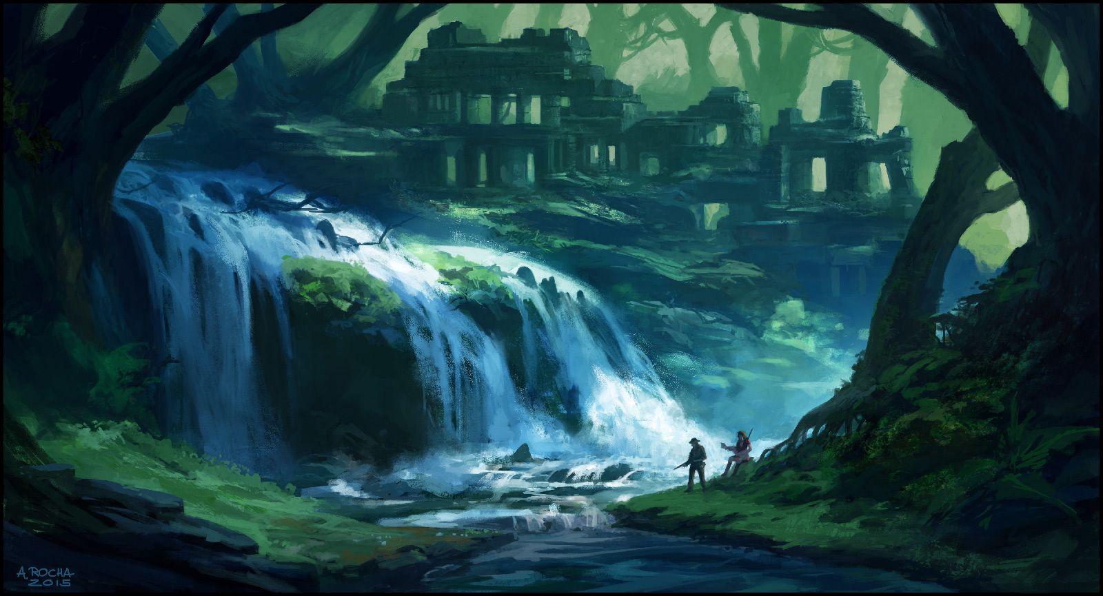 Deep In The Jungle by andreasrocha.deviantart.com on @DeviantArt