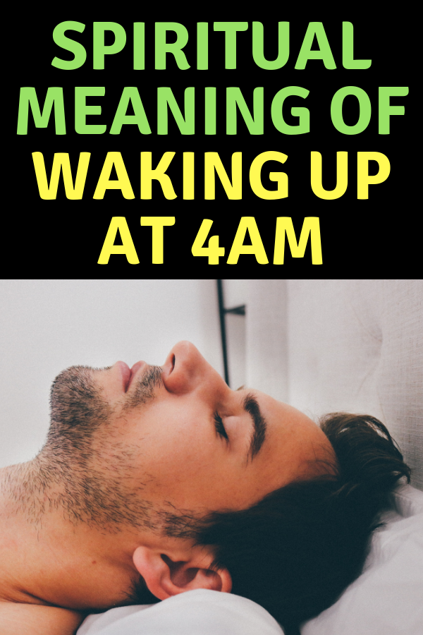 Spiritual Meaning of Waking Up at 1AM, 2AM, 3AM, 4AM, and