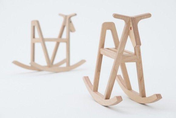 DesignTide - paper/wood horse
