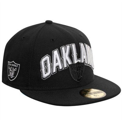 ca6e770d5 New Era Oakland Raiders 2012 NFL Draft Fitted Hat - Black Got this for my  Bday! woot woot