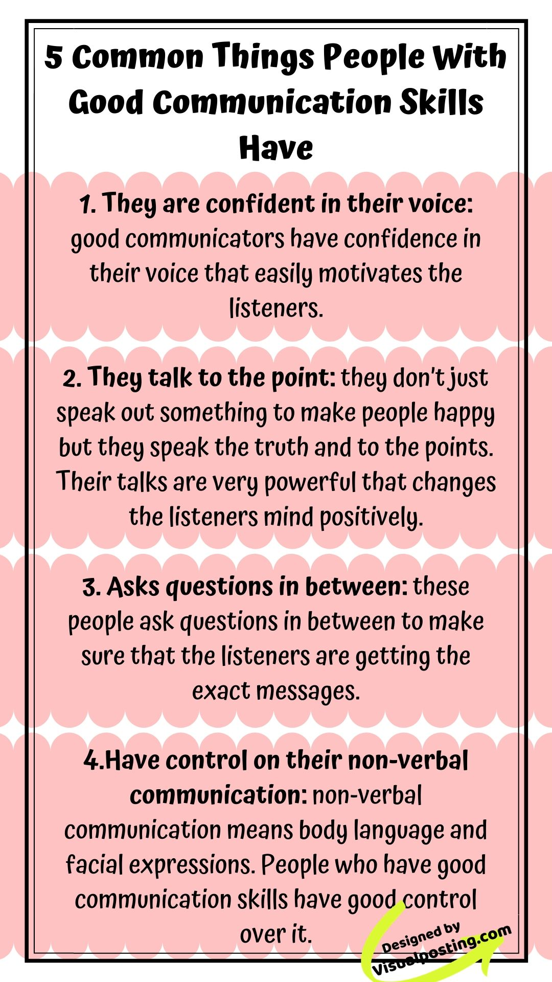 5 Common Things People With Good Communication Skills Have They Are Conf Good Communication Skills Effective Communication Skills Improve Communication Skills