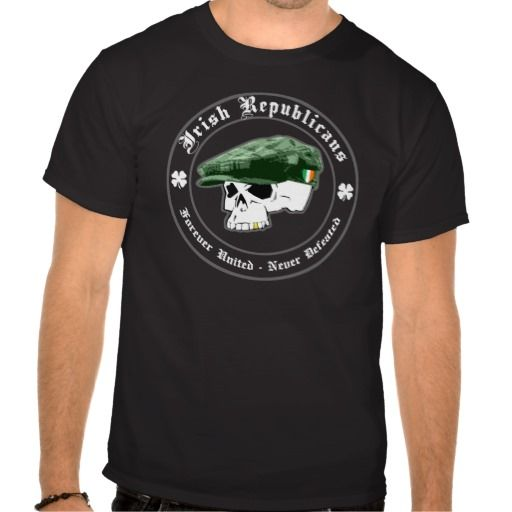 IRA: Forever United, Never Defeated Tee Shirt