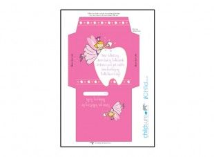 Print Off This Colourful Envelope Template For Your Child S Tooth