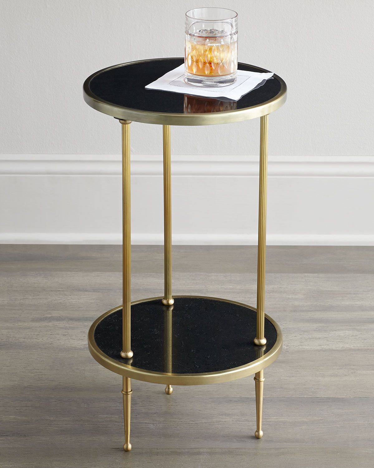 Global Views Galen Tiered Side Table Furniture End Tables