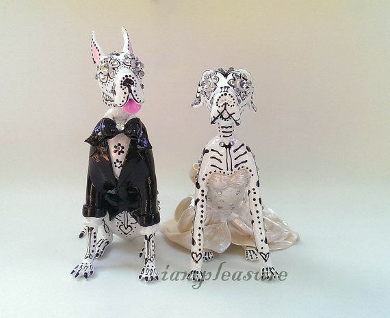 Hey, I found this really awesome Etsy listing at https://www.etsy.com/listing/223616051/skull-great-dane-wedding-handmade-skull