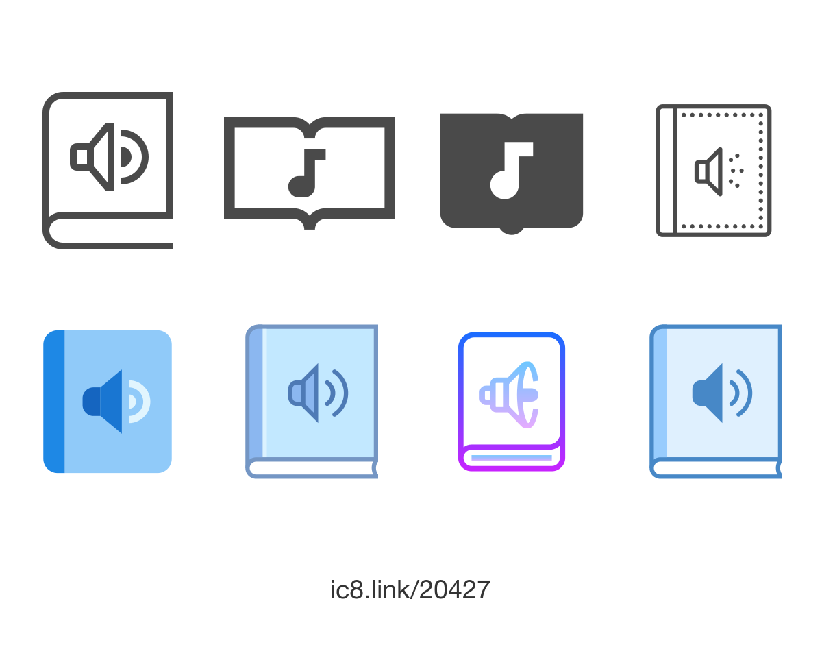 Free Flat Audio Book Icon Of Windows 10 Available For Download In Png Svg And As A Font Icons Uidesign Design Graphicdesig Audio Books Book Icons Books