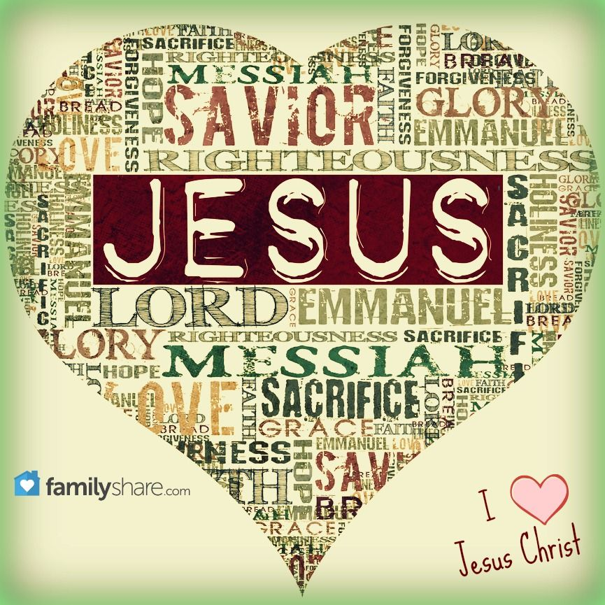 Names of Jesus Christ.