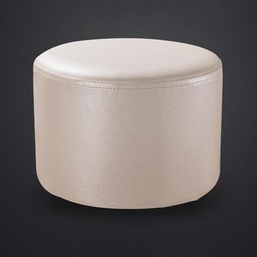 Outstanding Yazi Pu Leather Round Stools Ottoman Sofa Chair Portable Dailytribune Chair Design For Home Dailytribuneorg