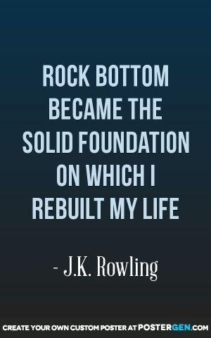Rock Bottom Print