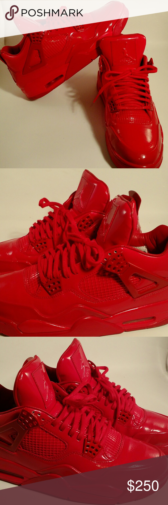 low priced 6e675 cb286 Nike Jordan 11LAB4 -Men s Patent Leather Nike Jordan 11LAB4 -Men s Patent  Leather University Red