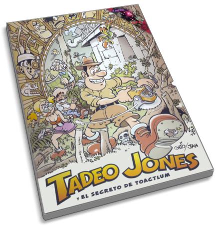 EL BLOG DE TERCERO: CÓMIC: TADEO JONES Y EL SECRETO DE TOACTLUM