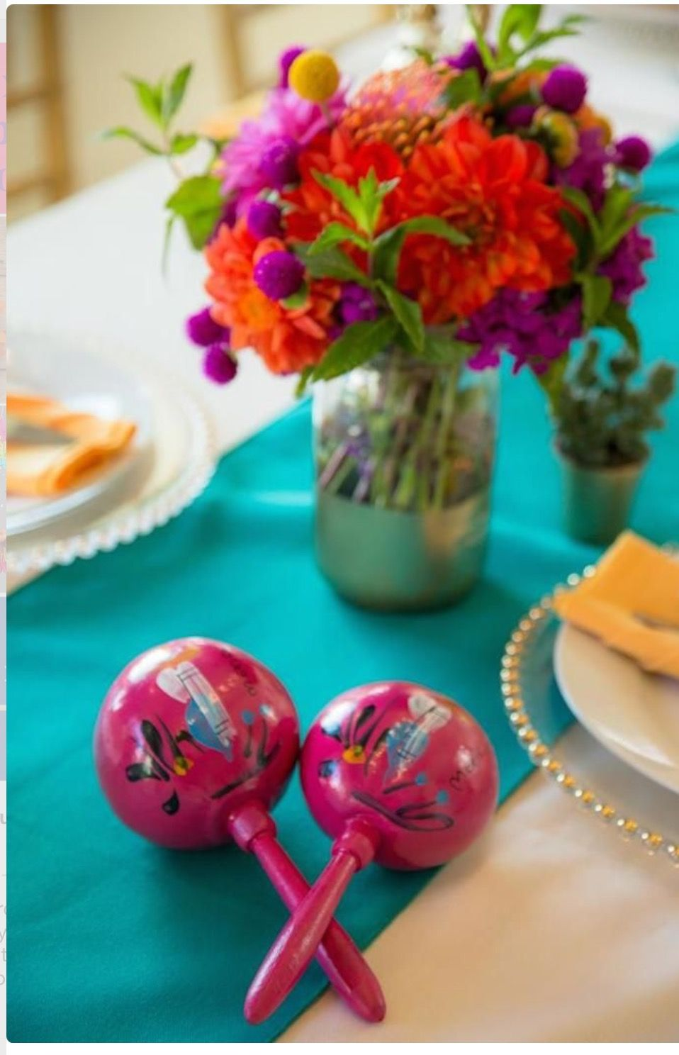 Mexican fiesta party decorating ideas hosting guide - Mexican Fiesta Maracas For The Kids