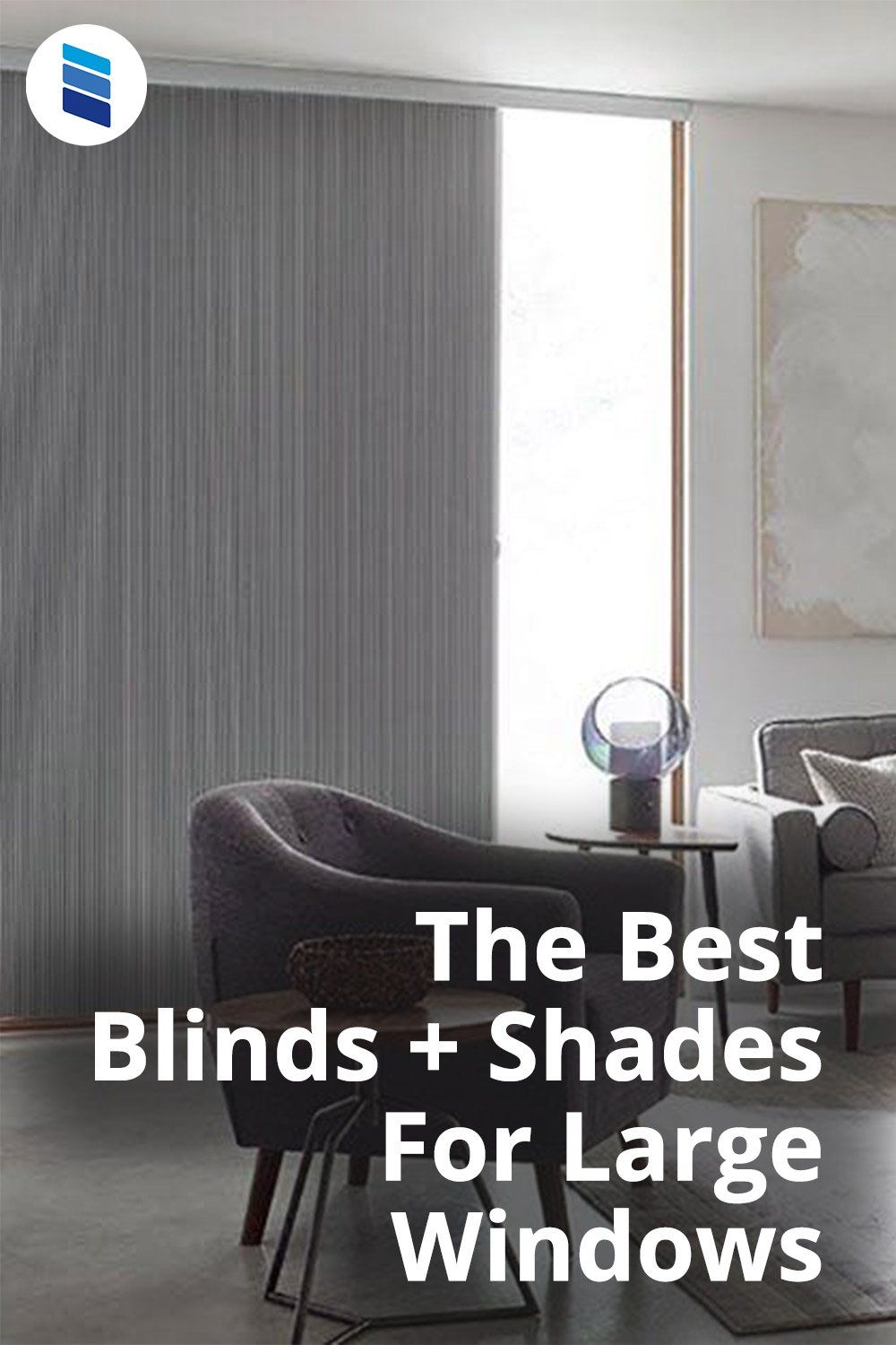 The Best Window Treatments For Large Windows Blinds Com In 2021 Best Blinds Large Windows Window Treatments