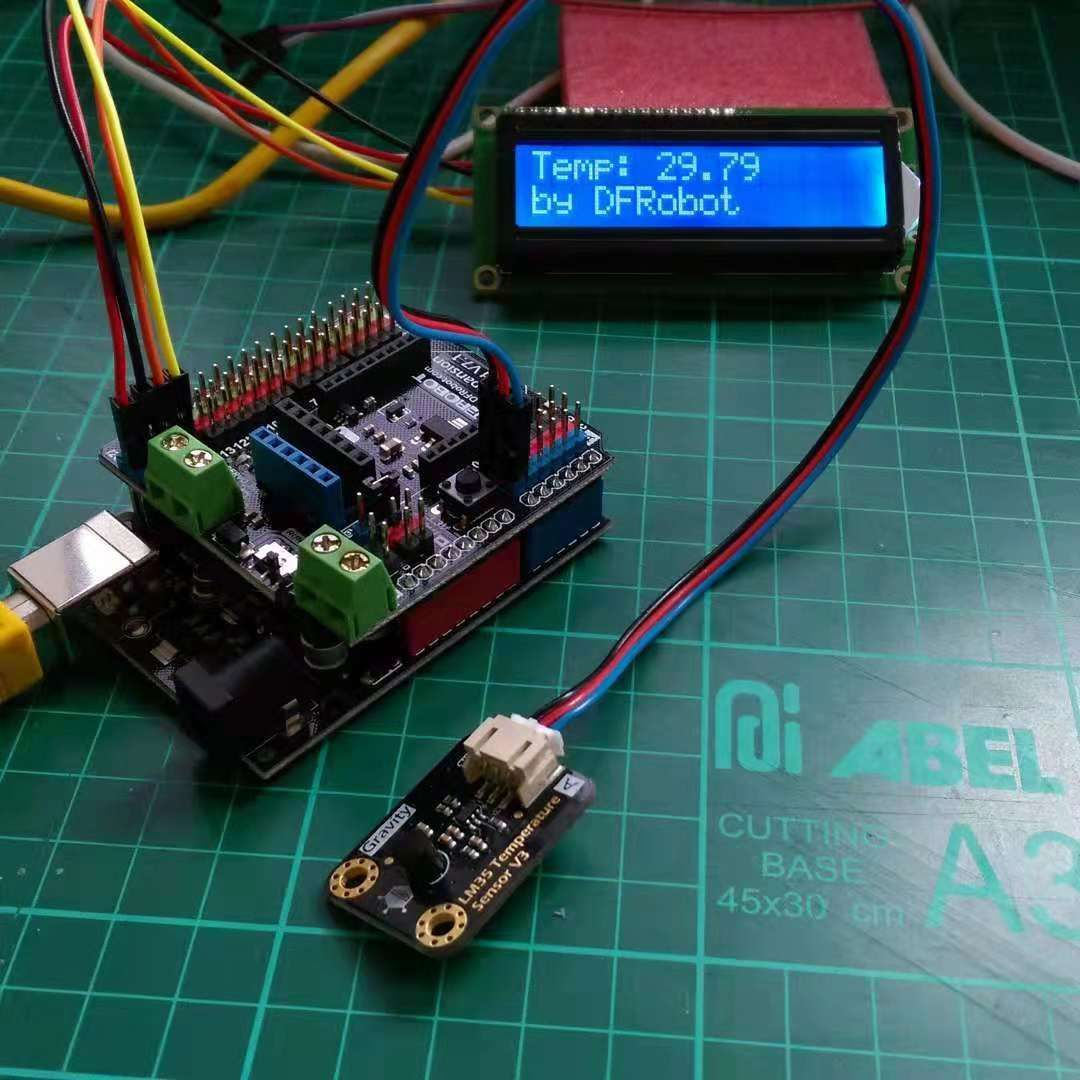 Gravity Series Electronics Projects Diy Arduino Lcd Electronics Projects