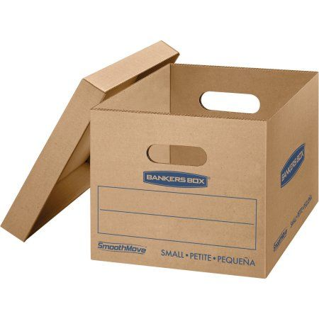 Bankers Box Smoothmove Classic Moving Boxes Small 20pk Kraft 20