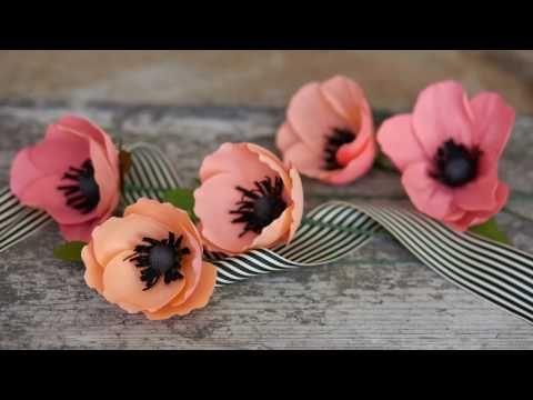 Paper Flowers - Ranunculus / Persian Buttercup (Flower # 22) - YouTube