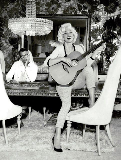 Milla as Marilyn...