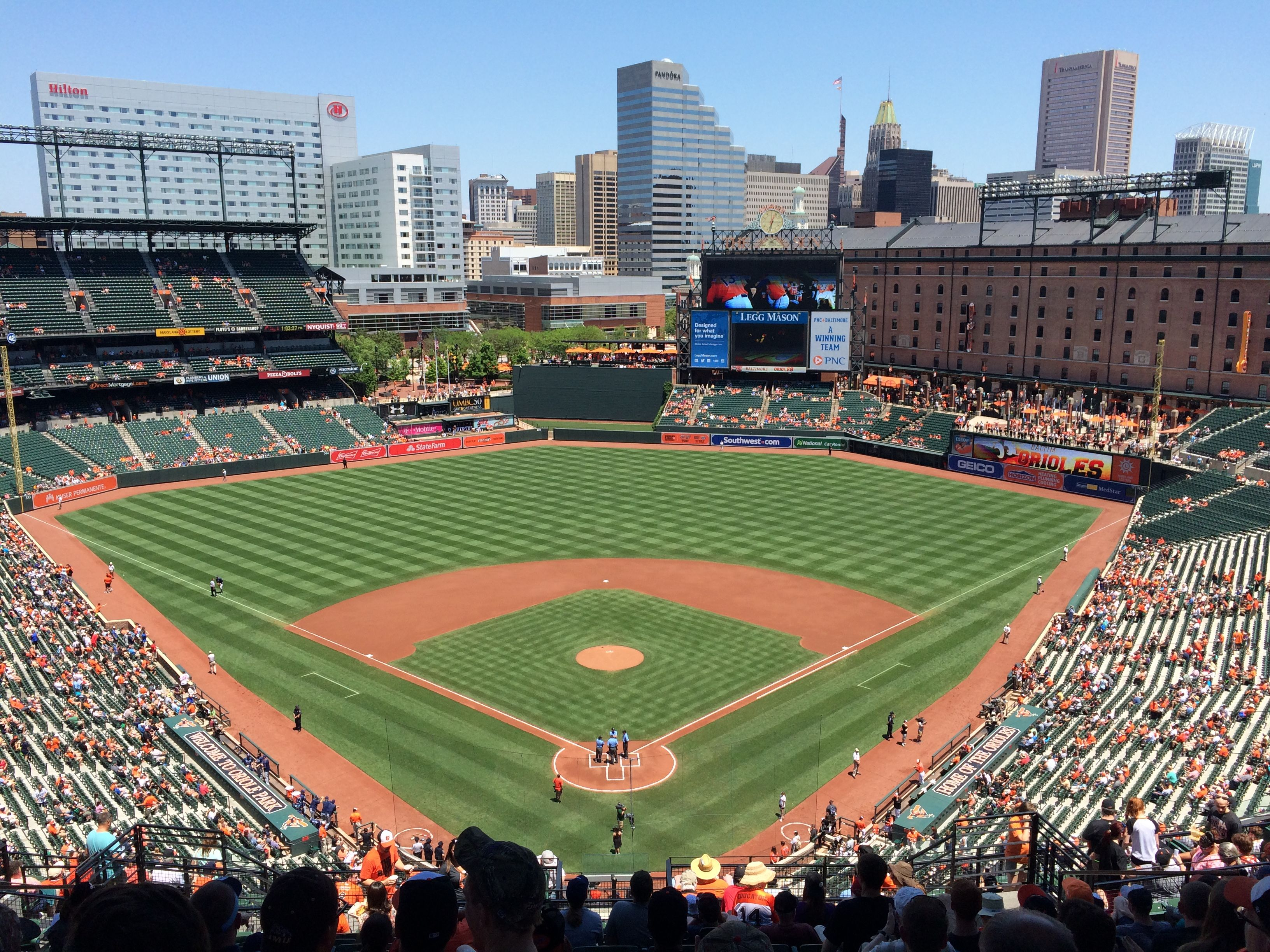 The Stadium Journey Staff Fanned Out To All 30 Mlb Ballparks To Establish This Year S Rankings Each Stadiu Baltimore Orioles Stadium Mlb Stadiums Camden Yards