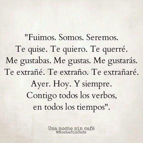 Amor El Frases Love Quotes Una Noche Sin Cafe Wow Amor