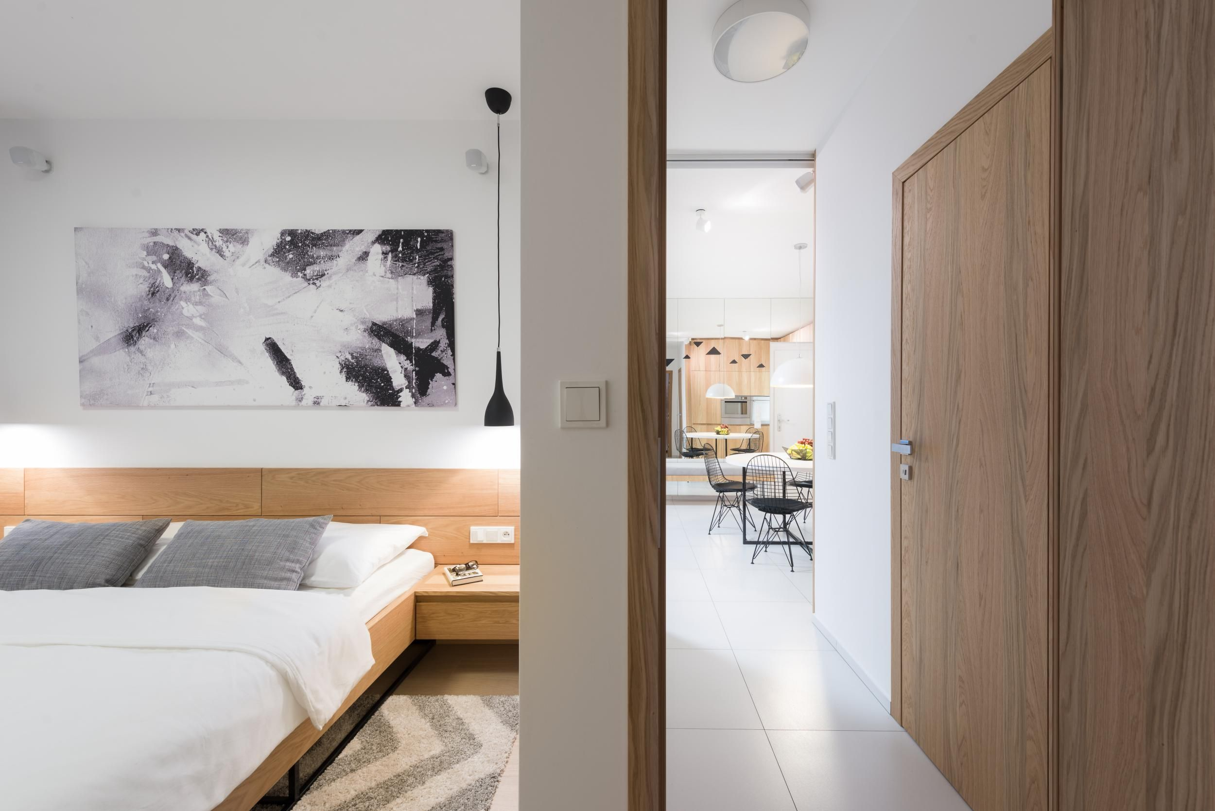 Návrh interiéru dvojizbového bytu, Bratislava | RULES architekti