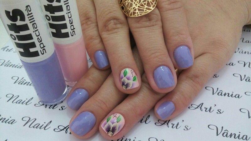 Lilás e rosa....