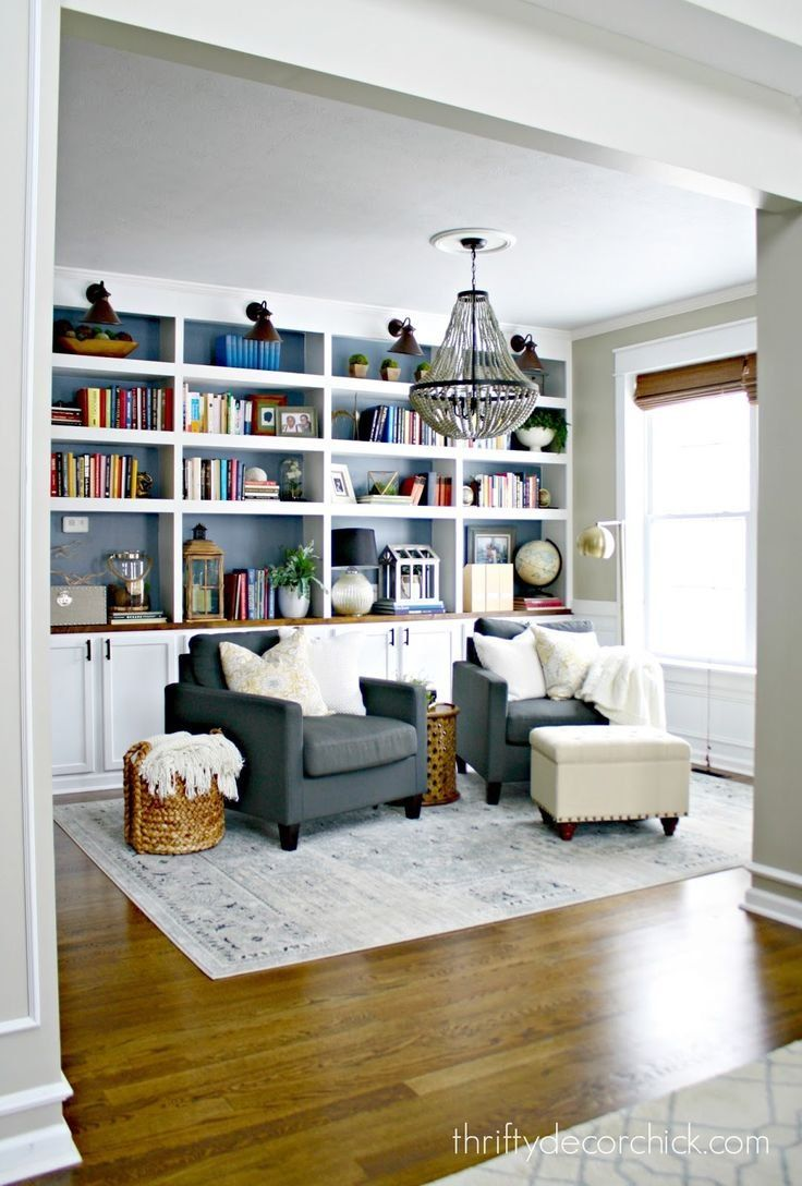 Fun Ideas For Extra Room Best Images About Farmhouse Bedrooms On Pinterest Master Repurpose Formal Living S Home Library Rooms Living Room Diy Home Living Room