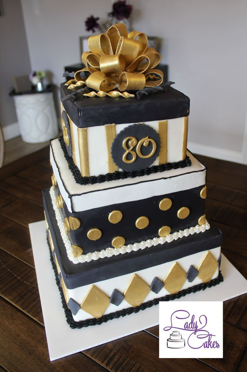, 80Th Birthday Cakes Black And Gold 80th Birthday Cake Ladycakes Bakery – birijus.com  80Th Birthday Cakes Best 80th Birthday Cake Decorations 2015 The…, Sakir's Birthday Design Blog, Sakir's Birthday Design Blog