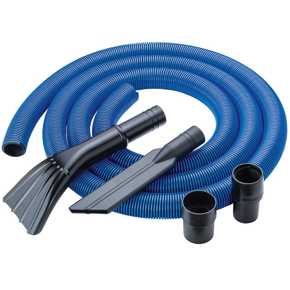 Dust Right 12 Heavy Duty Shop Vacuum Hose Kit Shop Vacuum Woodworking With Resin Woodworking Joints