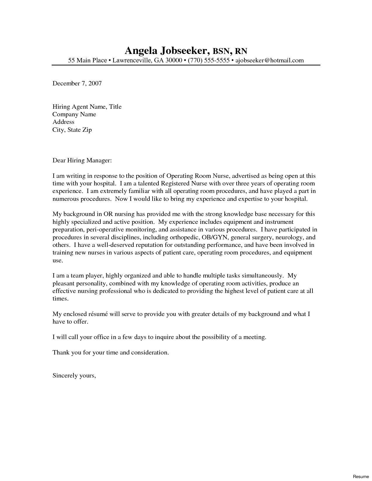 Find Fantastic Sample Resume Cover Letter For Nurses  That Wow