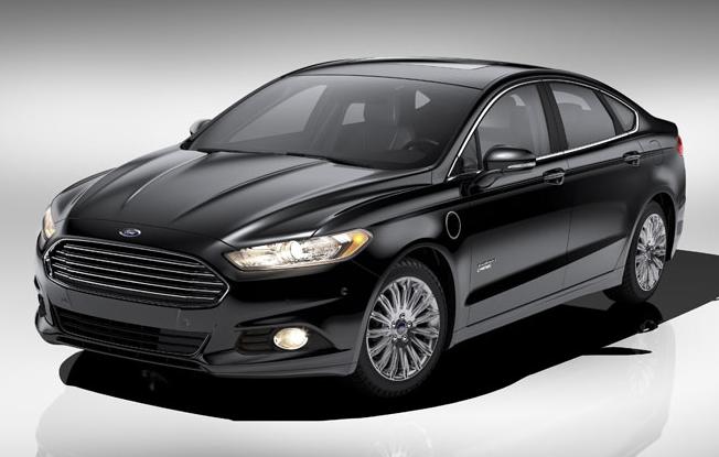 ford - 2015 Ford Fusion Hybrid Black