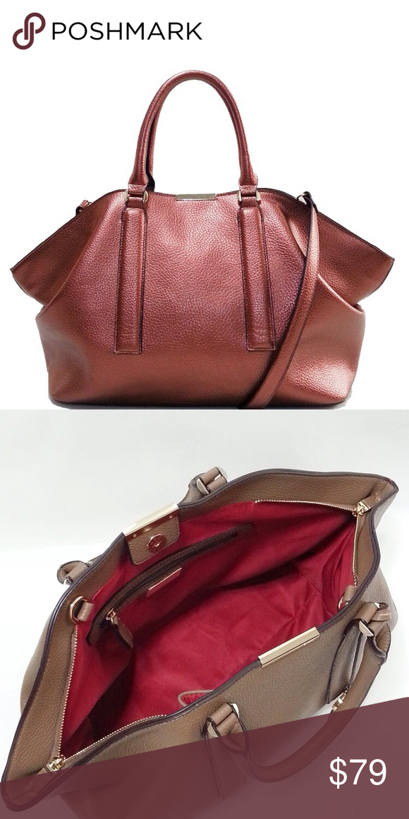 Galian Handbag Top Handle Drop 6 2 Zipper Closure Magnetic Snap