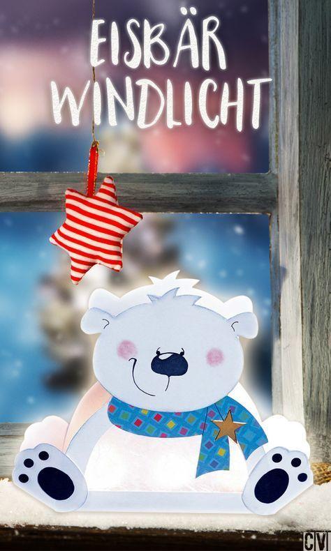 Bäriges Windlicht für den Winter | familie.de