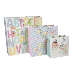 773414bde Sada 3 darčekových tašiek Tri-Coastal Design Kids World | inspir